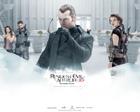 Shawn Roberts in Resident Evil  Afterlife Wallpaper 3 1024